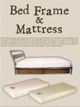 Bed Frame&Mattress