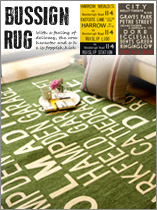 RUG BUS SIGN
