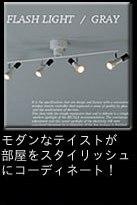 フラッシュライト(FLASH LIGHT) スポットライト4灯