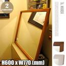 TA.MIRROR 600×770 壁掛けミラー・鏡