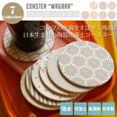 陶器珪藻土コースター WAGARA(丸型)