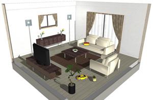 カーテン・じゅうたんについてのコーディネート画像