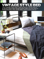 ヴィンテージ ベッド シングルフレーム