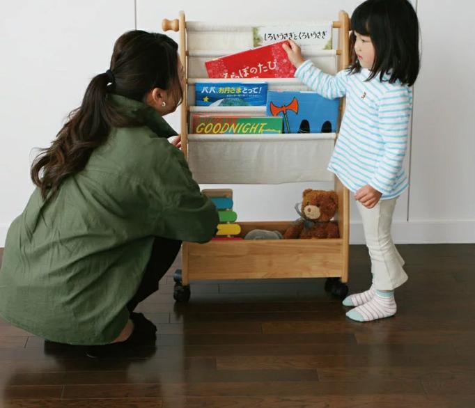 楽しく、快適で安全に 親も子も満足できるキッズスペースの作り方②お片づけ家具編